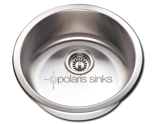 Polaris Sinks P564 Stainless Steel Bar Sink by Polaris Sinks by Polaris Sinks