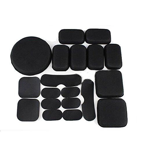 KYhao Memory Black EVA Foam Airsoft Tactical Helmet Protective Pad Cushions