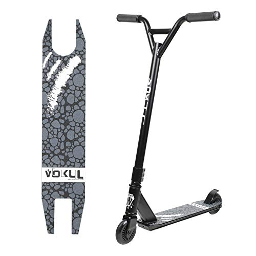 VOKUL Pro Stunt Scooter with Stable Performance - Best Entry Level Tricks Freestyle Pro Scooter for Age 7 Up Kids