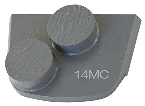 Diamond Disc Bond Metal Grinding (Lavina X2B-MC-0016 Diamond Medium Metal Bond for Medium Concrete 16 Grit Double Bar Segment)
