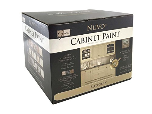 Nuvo Euro-Taupe 1 Day Cabinet Makeover Kit (Best Type Of Paint For Inside Kitchen Cabinets)