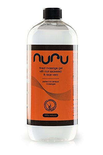 Nuru Gel - Finest Massage Gel 1000 ml - perfekt für Nass-Massagen ...