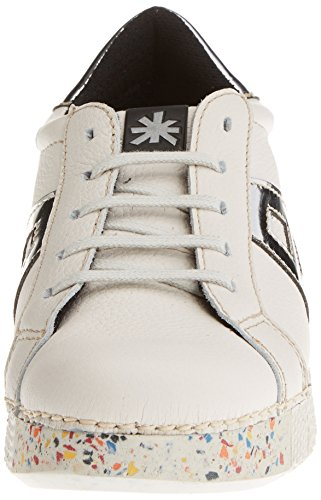 ART 1134 Memphis I Express, Zapatos de Cordones Derby Unisex Adulto Blanco (Whiteplata)