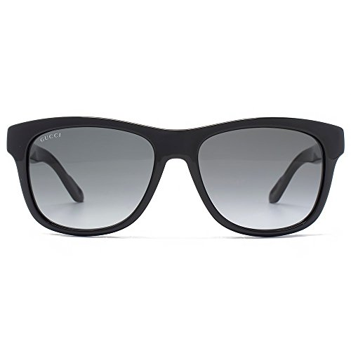 Gucci Two Tone Wayfarer Sunglasses in Black Grey GG 3709/S IMX 54