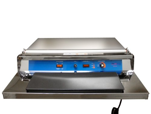 UU-550 Stainless Steel Heat Plate & Hand Wrapper for Food Packaging from ABC Office