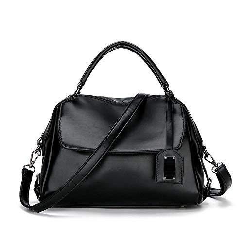 Oil Handbag B Hundred Bag Bag Wax Bag Female Woman Hongge Fashion PU Women Single Shoulder 1CqII4