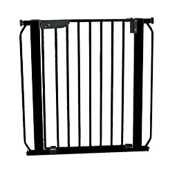 Cardinal Gates Autolock Pressure Gate, Black