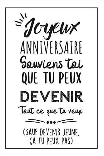Heureux Anniversaire Carnet De Notes Idée Cadeau D