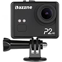 Dazzne P2 2 Inch 1080P LCD Screen Professional HD Sports Camera (Black)