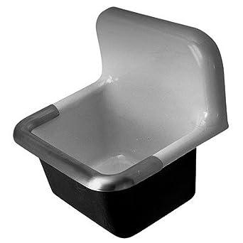 Zurn Z5898 Cast Iron Service Sink, 8u0026quot; Centers, ...