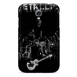 High Quality Phone Case For Samsung Galaxy S4 With Allow Personal Design Vivid Metallica Band Pictures MarieFrancePitre