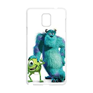 Monsters-Inc Samsung Galaxy Note 4 Cell Phone Case White KO2582827