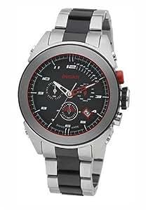 Ducati CW0008 - Reloj de caballero de cuarzo, correa de titanio color plata