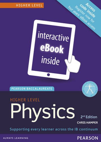 Physics, Higher Level, for the IB Diploma (eText) (Access Code Card) (Pearson Baccalaureate) (2nd Edition)