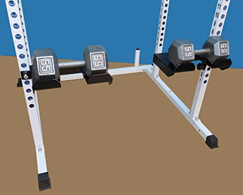 TDS Dumbell & Barbell Tray Attachment for Power Squat Racks by TDS