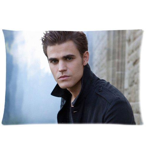 Cool Actor Paul Wesley Custom Cotton Queen Size Pillowcase DIY Pillow Case Pillowslip Pillow Cover Cushion Case