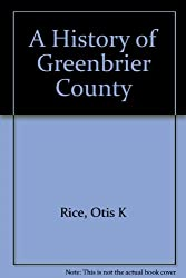 A History of Greenbrier County
