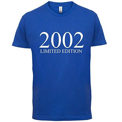 2002 Limierte Auflage / Limited Edition - 15. Geburtstag - Herren T-Shirt - Royalblau - M