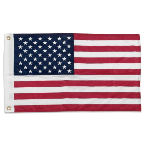 (Online Stores Superknit Polyester US Flag, 16 by 24-Inch)