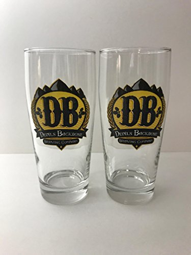 Devils Backbone Brewing Co - 16 Ounce Glass - 2 Pack