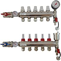Dismy - Colector de 5 puertos para calefacción