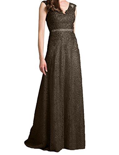 Brautmutterkleider Neu Braun Partykleider Festlichkleider Damen Dunkel Traeger Charmant Abendkleider Etuikleider Zwei Lang wRxX4ZTcCq