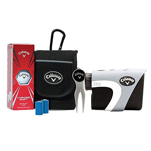 Callaway 300 Golf Laser Rangefinder with Power Pack