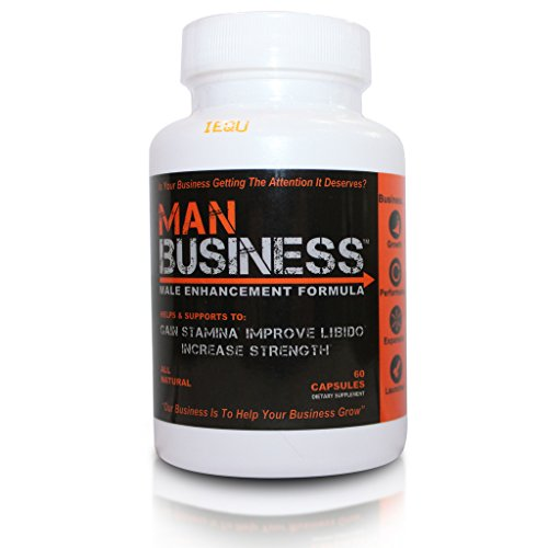 Man Business - The Best Male Enhancement and Testosterone Booster Pills - Increase Your Energy