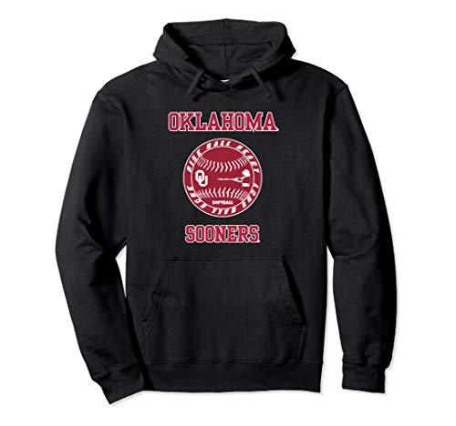 Oklahoma Sooners Mens Sweatshirts - Oklahoma Sooners Softball Rise Ball Ready Hoodie - Apparel