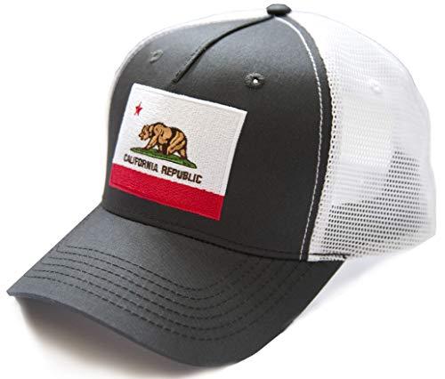 International Tie California State Bear Flag Premium-Quality Hat]()