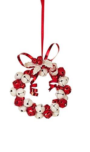 Jingle Bell Wreath Ornament - 5