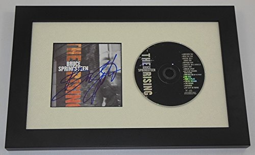 Bruce Springsteen The Boss Signed Autographed Music Cd Insert Cover Compact Disc Framed Display Loa