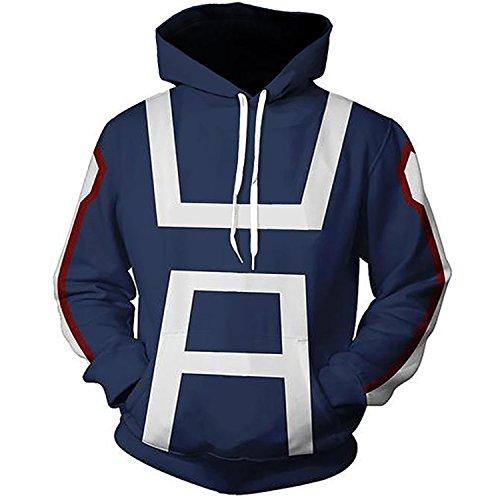 FashionHoodie.W Unisex 3D Print Anime Fashion Hoodies Sweatshirts S-XXXL