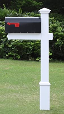 4EVER The Homestead Vinyl/PVC Mailbox Post (Includes Mailbox) - Parent