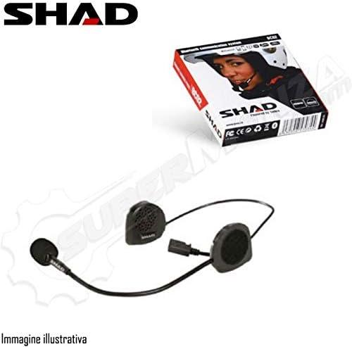 X0BC02 SHAD Interfono Doble Auricular Casco Moto Bluetooth SHAD BC02 Universal: Amazon.es: Coche y moto