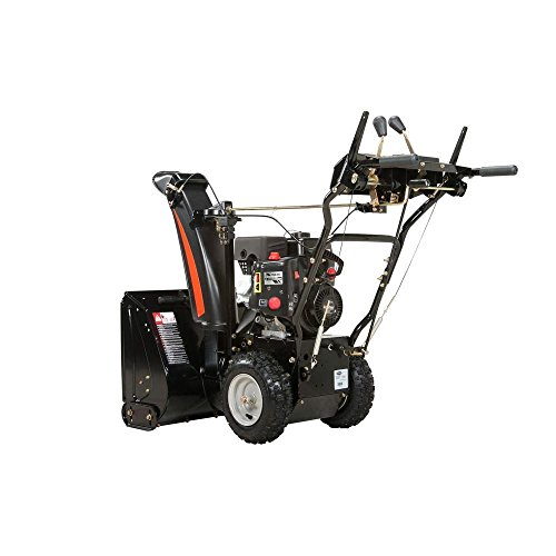 Best Electric Start Snow Blower : In two stage electric start gas snow blower lawn
