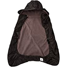 Ergobaby Fleece Lined Winter Weather Cover, Black