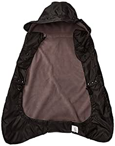 Ergobaby Fleece Lined Baby Carrier Winter Weather Cover, Black