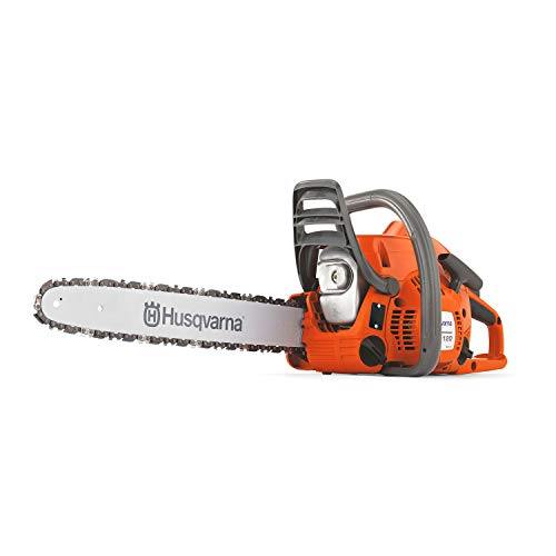 Husqvarna 120 Mark II 16 in. Gas Chainsaws, Orange/Gray