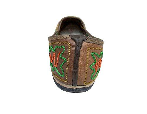Style Indio Lentejuelas Zapatos Flats Funda Boda N Jutti Punjabi De Step Novia 5nqx8aA