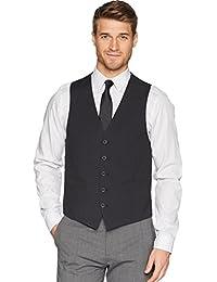 Kenneth Cole REACTION Mens Techni-Cole Slim Fit Suit Separate (Blazer, Pant, and Vest) Business Suit Jacket