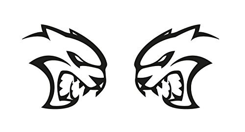 Dodge Hellcat Decal Decals Sticker product image