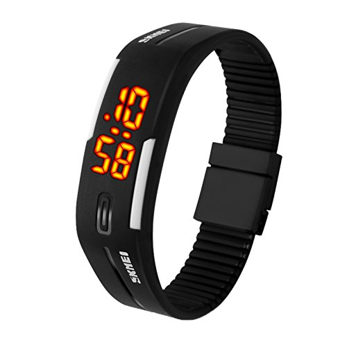 eYotto Fashion Sports Watches Rubber Bands 30M Waterproof for Men Women Teens Students