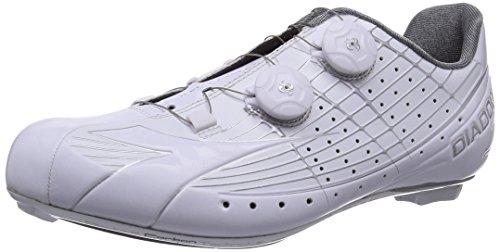 Diadora Vortex-pro Scarpe Da Ciclismo Unisex-adulto - Bici Da Strada Bianco (bianco / Bianco 6570)