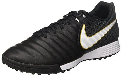 NIKE Mens Tiempox Rio IV (IC) Indoor Soccer Shoe Black