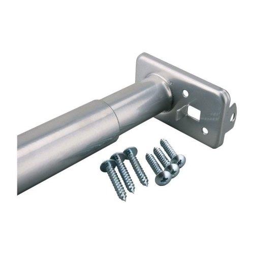 Closet Pro HD RP0022-18/30 Adjustable Closet Rod, 18-Inch to 30-Inch, Platinum