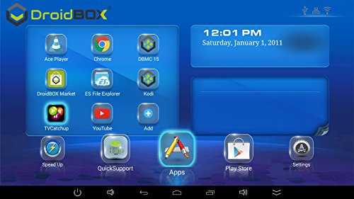 DroidBOX Q8-S with IR Android 5 1 1 Lollipop 4K Ultra HD Smart TV