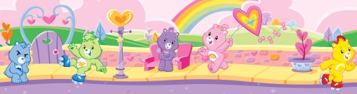 Brewster PS99833 Care Bears Wall Border