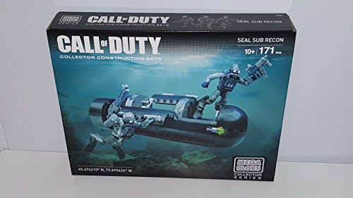 Call of Duty Seal Sub Recon Collector Construction Set 171 Pieces Mega Bloks NIB ,#G14E6GE4R-GE 4-TEW6W220531