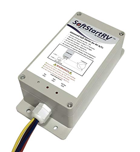 SoftStartRV SSRV3T by NetworkRV Enables An RV Air Conditioner To Start And Run On A Small Generator, Or Limited Power, When It Would Otherwise Not Have Started Bonus Gift